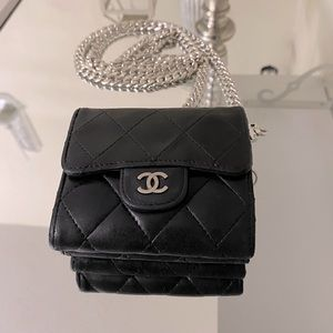 🔥Chanel double side quilted mini WOC🔥